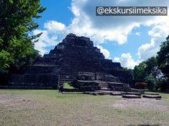Древнее святилище в Калакмуль Мексика