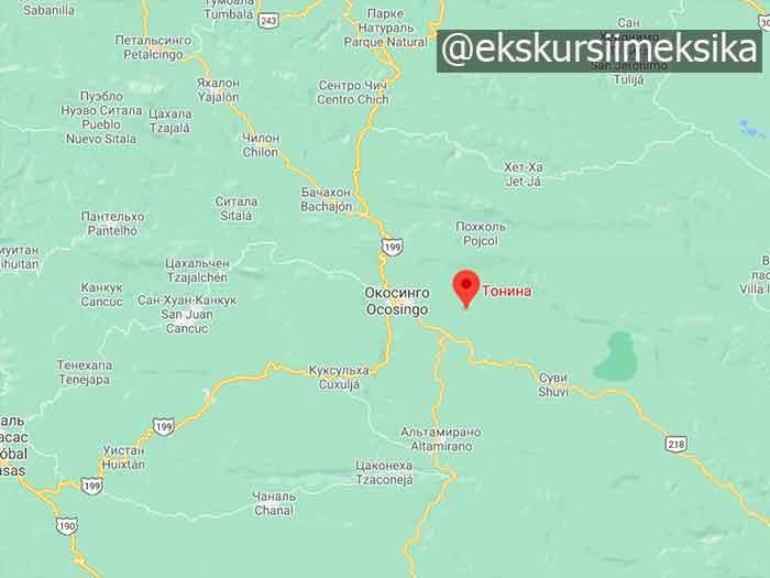 Tonina на карте гугл